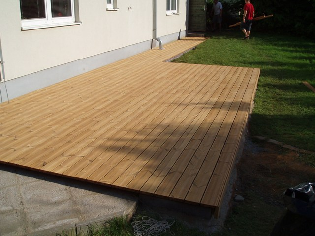 Borovice thermowood