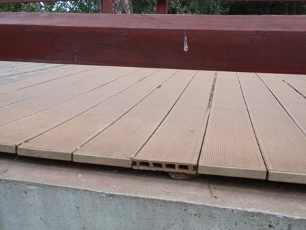 Drevo plastova terasa